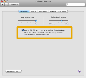 keyboard system preferences